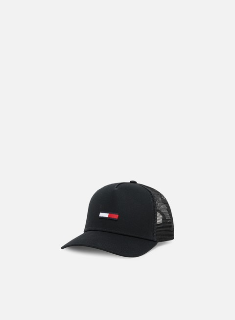Curved Brim Caps Tommy Hilfiger TJ Trucker Flag Cap