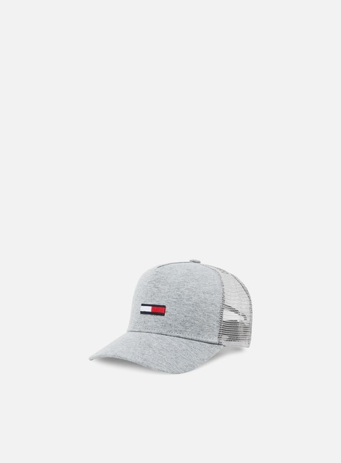 Sale Outlet Curved Brim Caps Tommy Hilfiger TJ Trucker Flag Cap