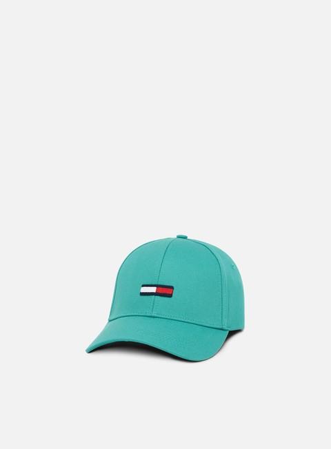 cappellini tommy hilfiger tju flag cap green blue slate