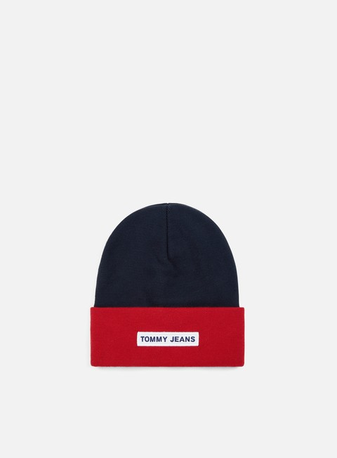 cappellini tommy hilfiger tju logo beanie corporate