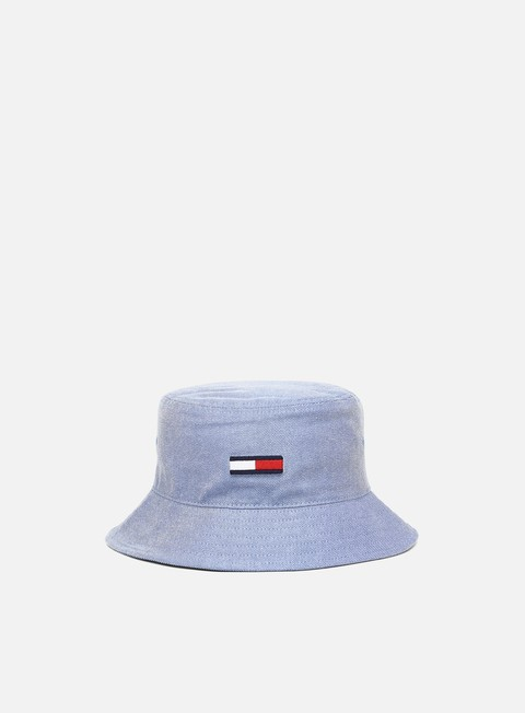Bucket hat Tommy Hilfiger WMNS Flag Washed Denim Bucket Hat