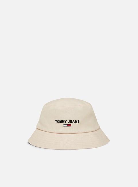 Outlet e Saldi Cappellini bucket Tommy Hilfiger WMNS Sport Natural Bucket Hat