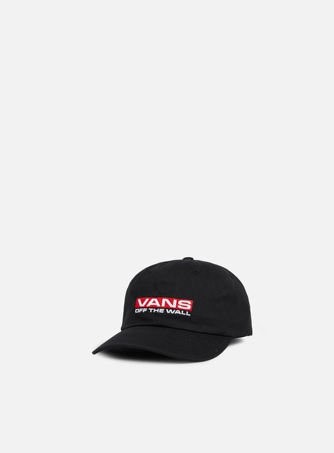 cappellini vans block curved bill cap black