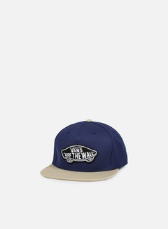 Vans - Classic Patch Snapback, Dress Blues/Khaki