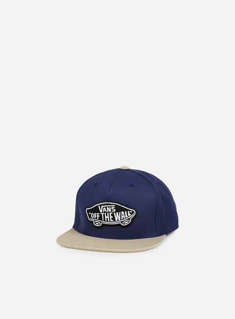 cappellini vans classic patch snapback dress blues khaki