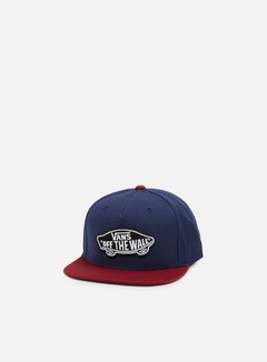 Vans - Classic Patch Snapback, Dress Blues/Rhubarb 1