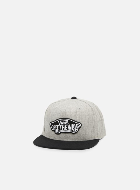 cappellini vans classic patch snapback heather grey black