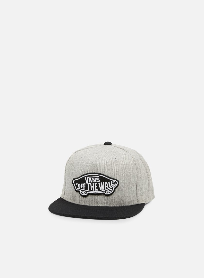 Vans - Classic Patch Snapback, Heather Grey/Black