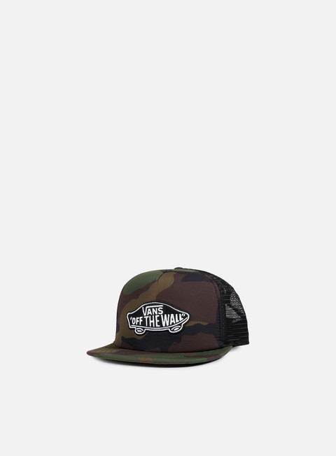 cappellini vans classic patch trucker hat classic camo