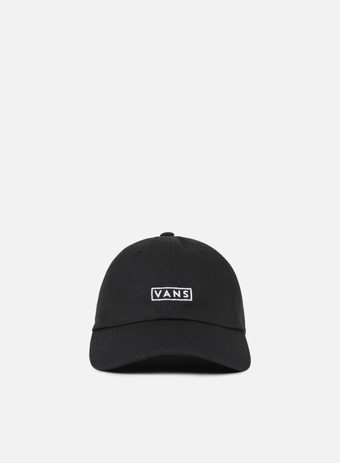 cappellini vans curved bill hat black