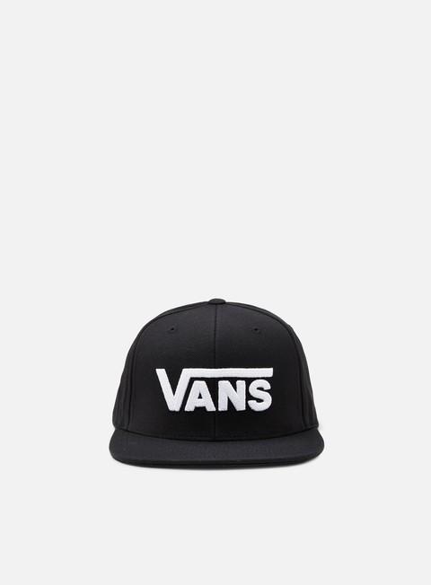 cappellini vans drop v ii snapback black white