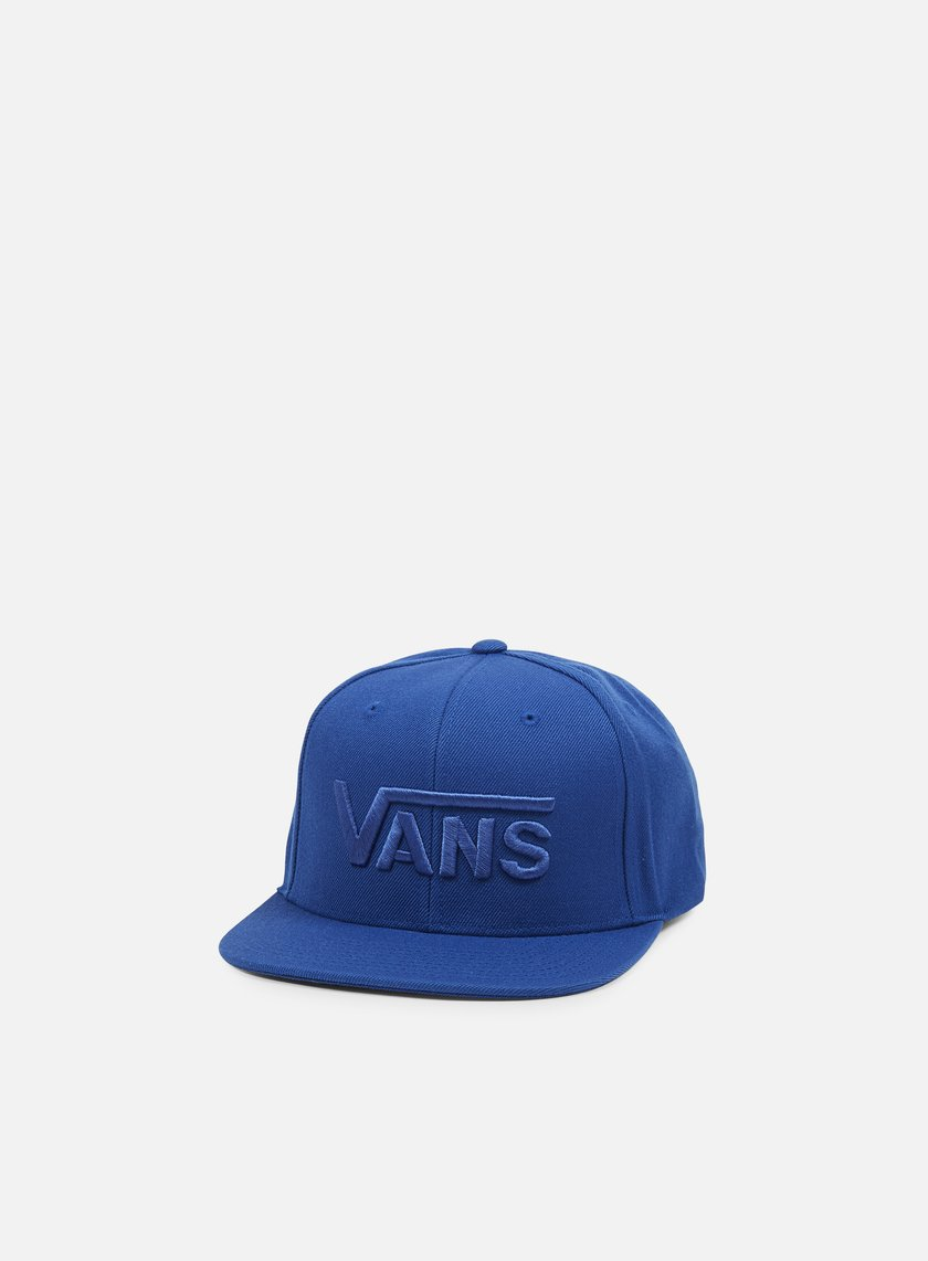 Vans - Drop V Snapback, True Blue