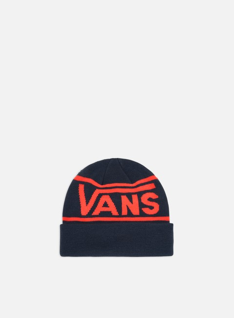 Sale Outlet Beanies Vans Drop V Stripe Cuff Beanie