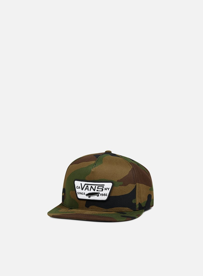 Vans - Full Patch Snapback, Classic Camo