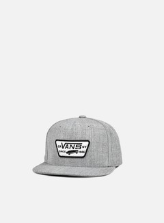 Vans - Full Patch Snapback, Heather Grey 2