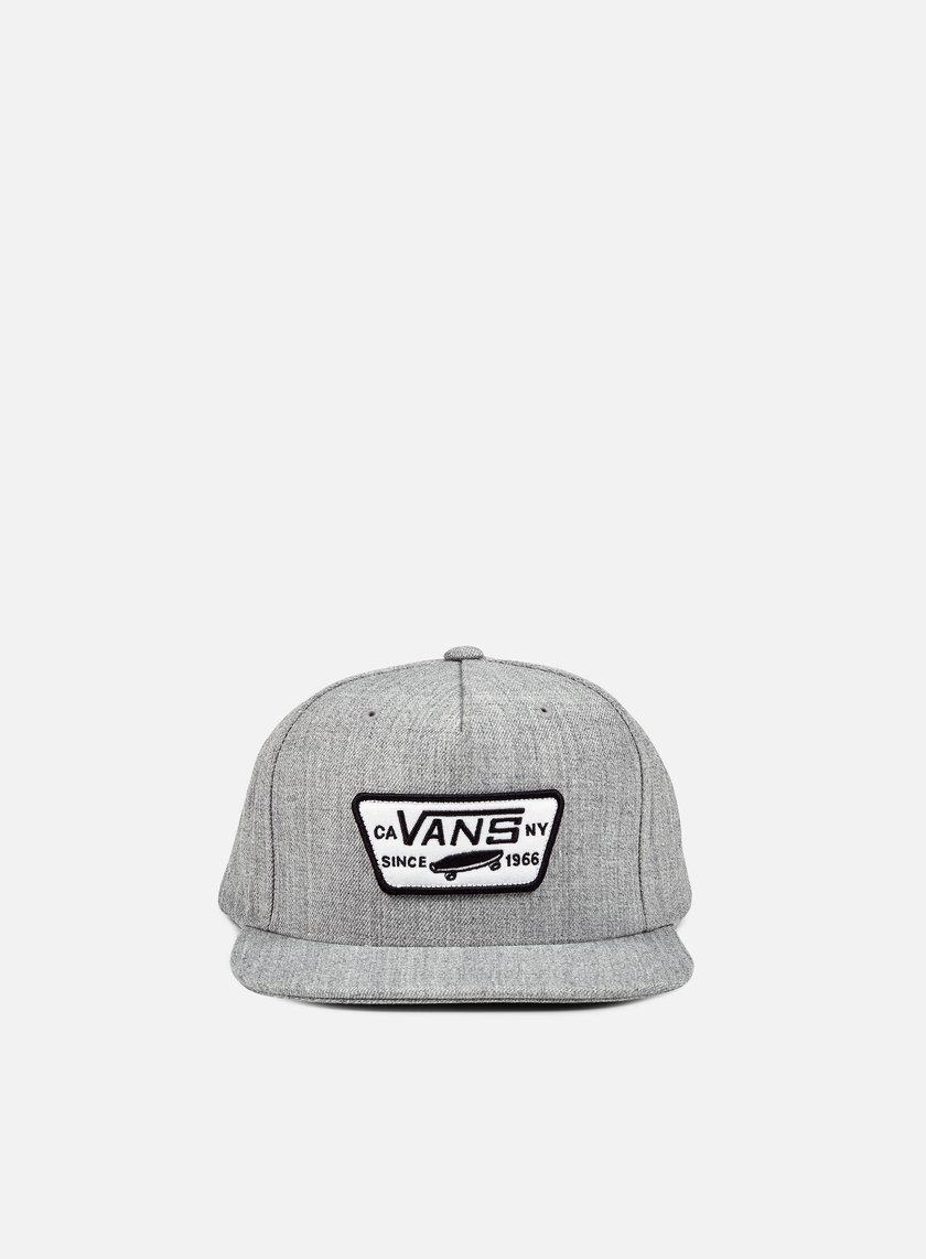 Vans - Full Patch Snapback, Heather Grey