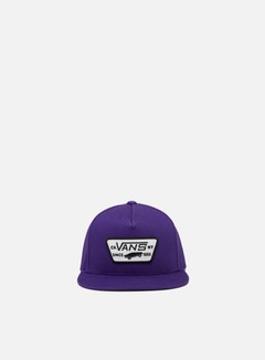 Vans - Full Patch Snapback, Heliotrope