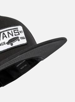 Vans - Full Patch Snapback, True Black 4