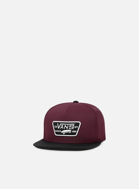 cappellini vans full patch starter snapback port black