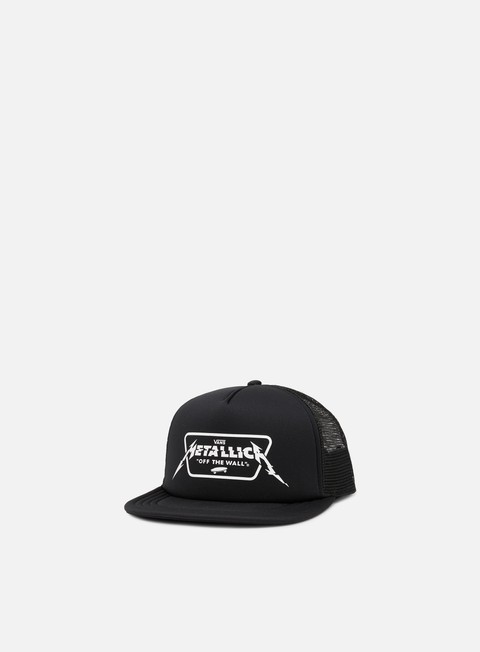cappellini vans metallica snapback black