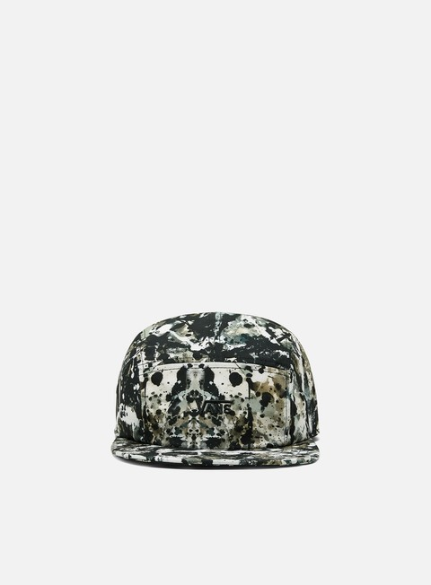 Cappellini 5 Panel Vans MoMA Pollock Camper Hat