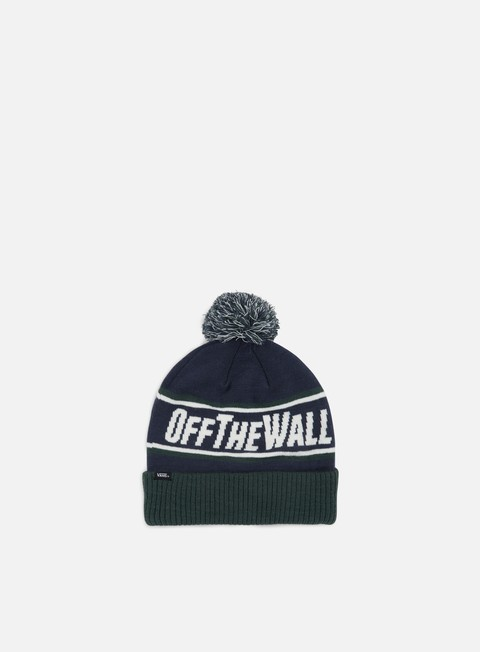 cappellini vans off the wall pom beanie dress blues