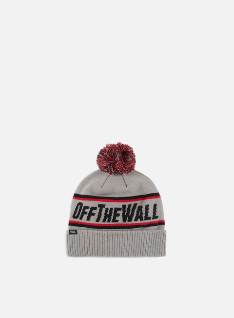 cappellini vans off the wall pom beanie frost grey
