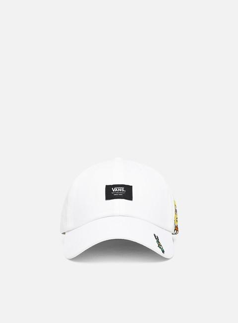 Curved Brim Caps Vans SpongeBob Curved Bill Jockey Hat