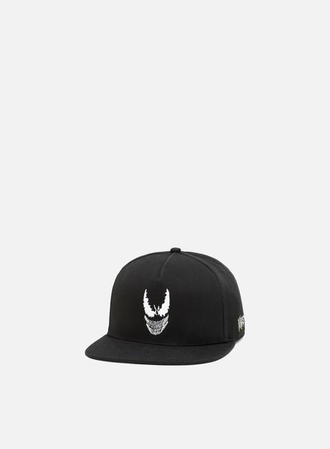 cappellini vans vans x marvel snapback black