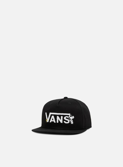 cappellini vans vans x peanuts snapback black