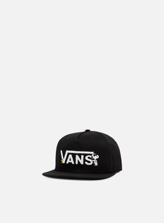 Vans - Vans x Peanuts Snapback, Black