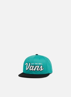 Vans - Wilmington Snapback, Baltic/Black