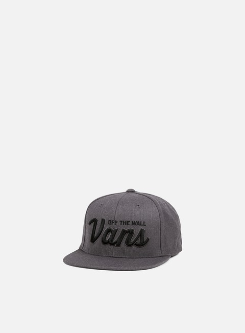 cappellini vans wilmington snapback new charcoal heather