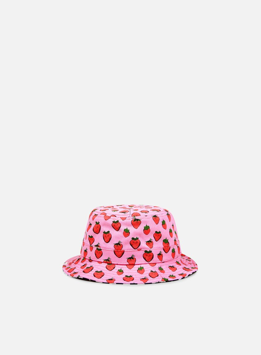 Vans - WMNS Clashed Bucket Hat, Strawberries