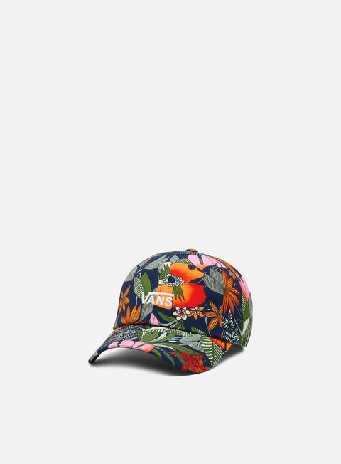 Outlet e Saldi Cappellini Visiera Curva Vans WMNS Court Side Printed Hat