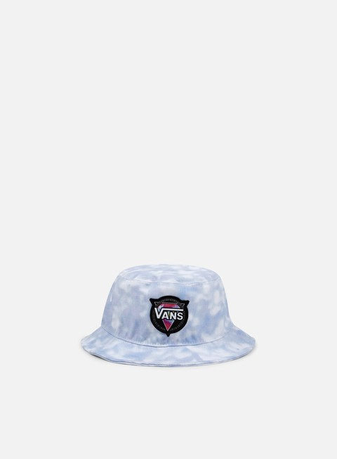 cappellini vans wmns end of the road bucket hat tie dye palace blue
