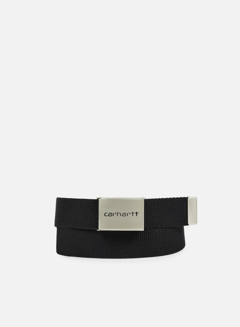 carhartt clip belt chrome black