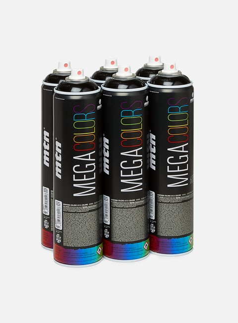 Spray Cans Packs Montana Mega 600 ml 6 Pack