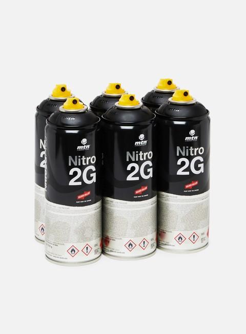 Combo pack di spray Montana Nitro 2G 400 ml 6 Pack