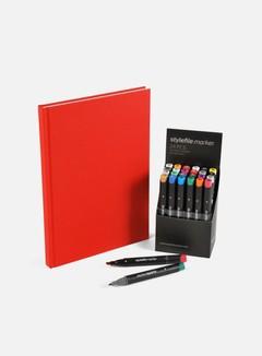 Stylefile Set 24 pz Main + Redbook A4