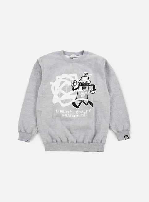 Crewneck Sweatshirts 123Klan Spraycan Liberté Crewneck
