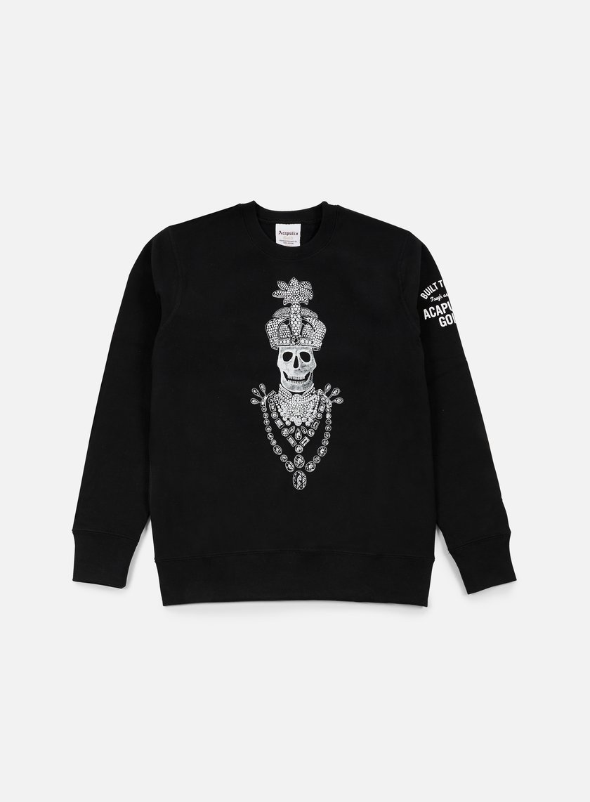 Acapulco Gold - Blood Diamond Crewneck, Black