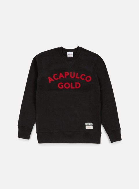 felpe acapulco gold championship crewneck black