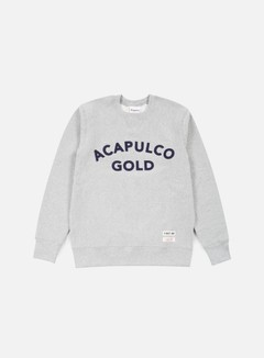 Acapulco Gold - Championship Crewneck, Heather Grey 1