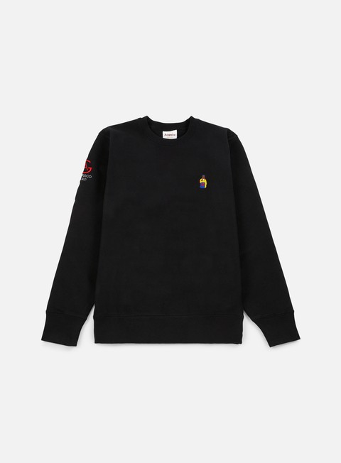 felpe acapulco gold chef crewneck black
