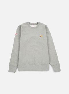 Acapulco Gold - Chef Crewneck, Heather Grey