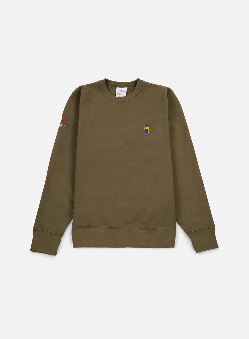 Acapulco Gold - Chef Crewneck, Olive