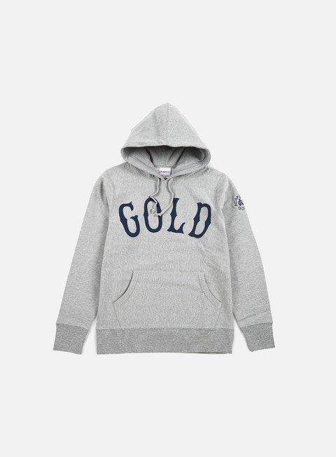 felpe acapulco gold gold hoody heather grey