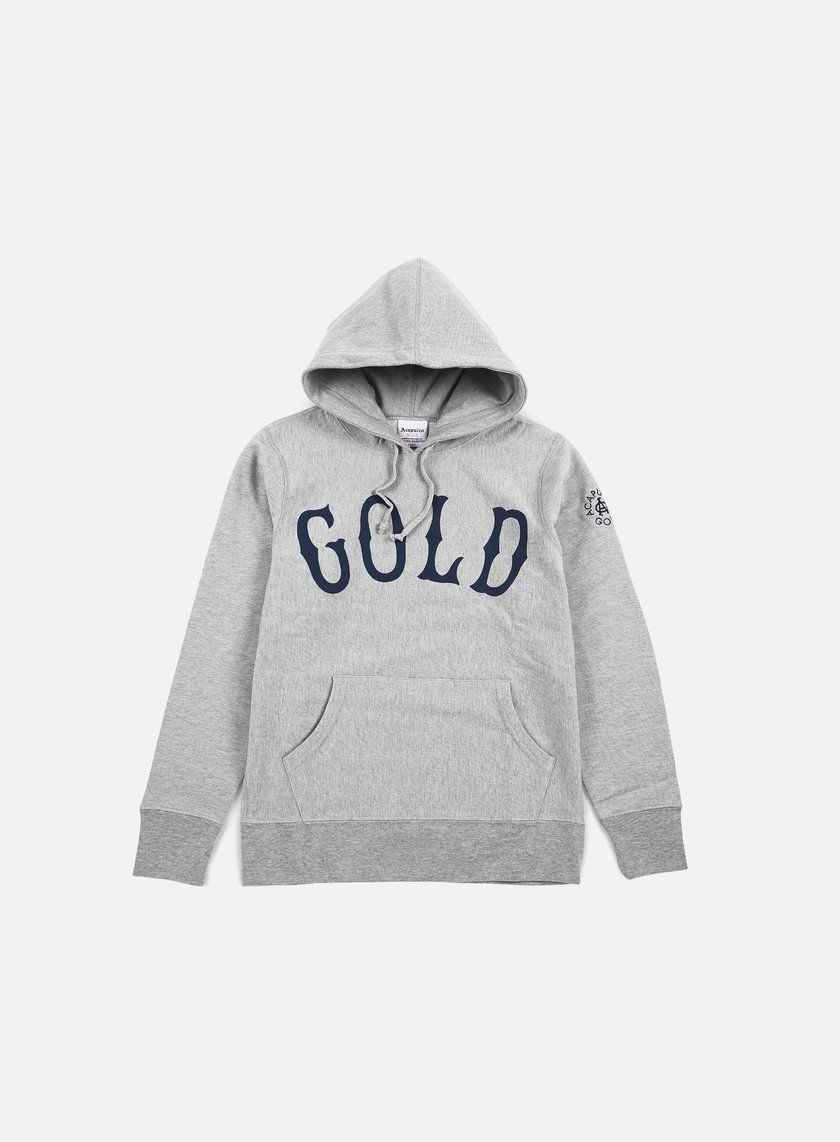 Acapulco Gold - Gold Hoody, Heather Grey