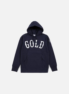 Acapulco Gold - Gold Hoody, Navy 1